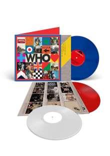 "The Who: Who (180g) (Limited Edition) (LP 1: Blue Vinyl/LP 2: White Vinyl/10"": Red Vinyl) (45 RPM), 2 LPs und 1 Single 10"""