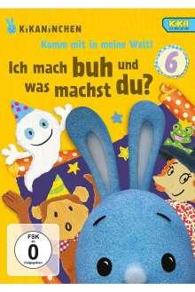 Kikaninchen DVD 6: Ich mach Buh und was machst du?, DVD