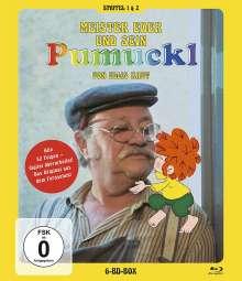Pumuckl - Meister Eder und sein Pumuckl Staffel 1 & 2 (Blu-ray), 6 Blu-ray Discs