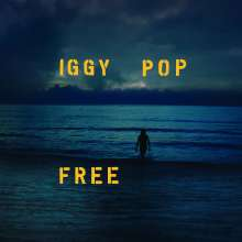 Iggy Pop: Free (Limited Edition) (Ocean Blue Colored Vinyl), LP