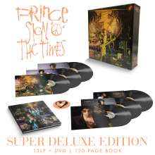 Prince: Sign O' The Times (Super Deluxe Edition), 13 LPs und 1 DVD