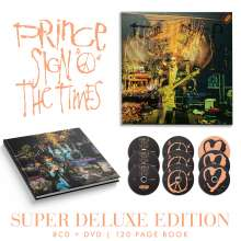 Prince: Sign O' The Times (Super Deluxe Edition), 8 CDs, 1 DVD und 1 Buch