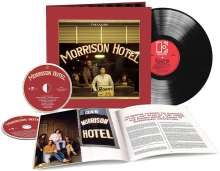 The Doors: Morrison Hotel (50th Anniversary) (180g) (Limited Numbered Deluxe Edition), 1 LP und 2 CDs