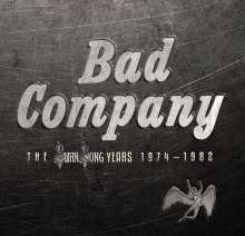 Bad Company: Swan Song Years 1974 - 1982, 6 CDs