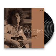 Tim Buckley: The Complete Album Collection 1966 - 1972 (remastered) (Limited Edition), 7 LPs