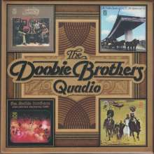 The Doobie Brothers: Quadio Box, 4 Blu-ray Audio
