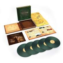 Filmmusik: The Lord Of The Rings: Return Of The King  (180g) (Deluxe-Box-Set) (Limited-Numbered-Edition) (Green Vinyl), 6 LPs