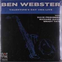 Ben Webster (1909-1973): Valentine's Day 1964 Live (Limited-Numbered-Edition), LP