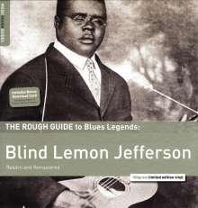"""Blind"" Lemon Jefferson: The Rough Guide To Blues Legends: Blind Lemon Jefferson (remastered) (180g) (Limited Edition), LP"