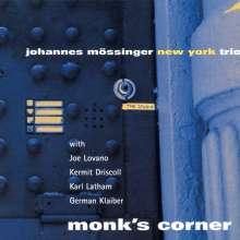 Johannes Mössinger (geb. 1964): Monk's Corner, CD