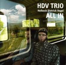 David Helbock (geb. 1984): All In, CD