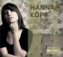 Hannah Köpf: Stories Untold, CD
