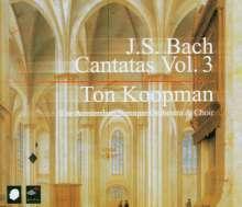 Johann Sebastian Bach (1685-1750): Sämtliche Kantaten Vol.3 (Koopman), 3 CDs