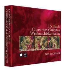 Johann Sebastian Bach (1685-1750): Kantaten BWV 40,41,63,64,65,91,121,122,133,152,190,191, 3 CDs