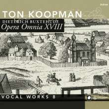 Dieterich Buxtehude (1637-1707): Opera Omnia XVIII (Vokalwerke 8), 2 CDs