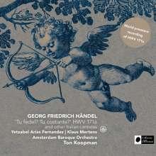 "Georg Friedrich Händel (1685-1759): Italienische Kantate HWV 171 ""Tu fedel! Tu costante?"", Super Audio CD"