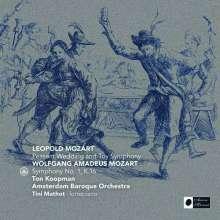 """Leopold Mozart (1719-1787): Divertimento D-Dur """"Die Bauernhochzeit"""", CD"""