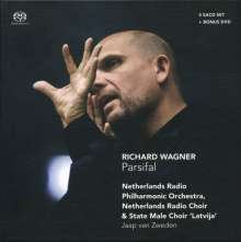 Richard Wagner (1813-1883): Parsifal, 4 Super Audio CDs und 1 DVD