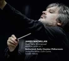 James MacMillan (geb. 1959): MacMillan Series Vol.1, CD