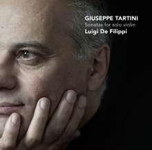 Giuseppe Tartini (1692-1770): Sonaten für Violine solo Nr.4,10,14,15,17, CD