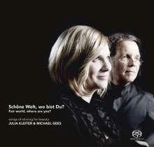 Julia Kleiter - Schöne Welt, wo bist Du?, Super Audio CD