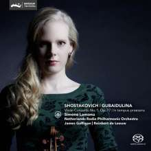 "Sofia Gubaidulina (geb. 1931): Violinkonzert ""In Tempus praesens"", Super Audio CD"
