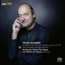 Franz Schubert (1797-1828): Symphonien Vol.1, Super Audio CD