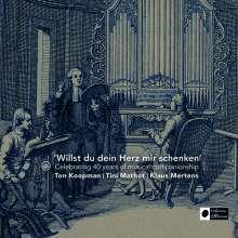 Klaus Mertens, Ton Koopman & Tini Mathot - Willst du dein Herz mir schenken, CD