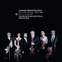 Johann Sebastian Bach (1685-1750): Die Kunst der Fuga BWV 1080, CD