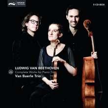 Ludwig van Beethoven (1770-1827): Sämtliche Werke für Klaviertrio, 5 CDs
