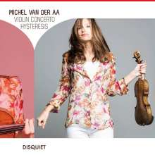"Michael van der Aa (geb. 1970): Violinkonzert ""Hysteresis"", CD"