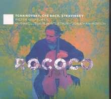 Peter Iljitsch Tschaikowsky (1840-1893): Rokoko-Variationen op.33 für Cello & Orchester, CD