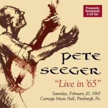 Pete Seeger: Live In ´65, 2 CDs