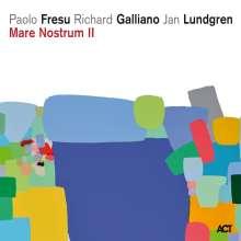 Paolo Fresu, Richard Galliano & Jan Lundgren: Mare Nostrum II (180g) (45 RPM), 2 LPs