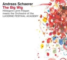 Andreas Schaerer: The Big Wig, 1 CD und 1 DVD