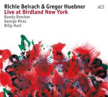 Richie Beirach & Gregor Hübner: Live At Birdland New York, CD