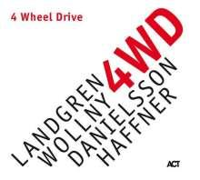 Nils Landgren, Michael Wollny, Lars Danielsson & Wolfgang Haffner: 4 Wheel Drive, CD