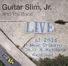 Guitar Slim Jr: Jazzfest 2015, CD