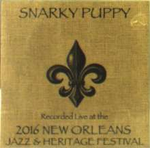 Snarky Puppy: Live At 2016 New Orleans Jazz & Heritage Festival, CD