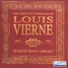 Louis Vierne (1870-1937): Orgelsymphonien Nr.1-6, 4 CDs