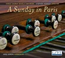 Christ Chruch Schola Cantorum - A Sunday in Paris, 2 CDs