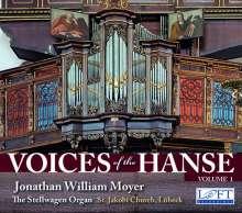 Voices of the Hanse Vol.1 - Die Stellwangen-Orgel St. Jakobi Lübeck, CD