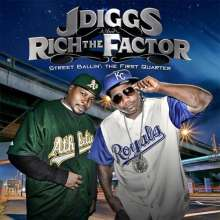 J-Diggs: Street Ballin: End Of The Firs, CD