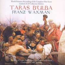 Franz Waxman (1906-1967): Filmmusik: Taras Bulba (Filmmusik), 2 CDs