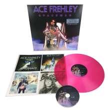 Ace Frehley: Spaceman (180g) (Limited-Edition) (Magenta Vinyl), 1 LP und 1 CD