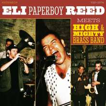 """Eli """"Paperboy"""" Reed: Meets High & Mighty Brass Band, LP"""