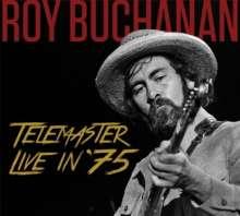 Roy Buchanan: Telemaster Live In '75 +Bonus, CD