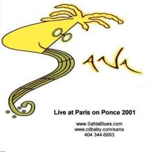 Sana Band: Live At Paris On Ponce, CD