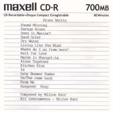 Milton Kerr: Blues Entity, CD