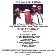 Sana Band: Live At Sana's, CD
